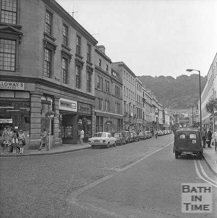 Southgate Street looking south, 20 July 1971