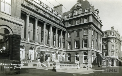 The Grand Pump Room Hotel, Stall Street c.1930
