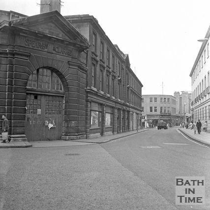 Spears Brothers and Clarke Ltd, slaughterhouse, on the corner of Newark Street and New Orchard Street, 20 July 1971