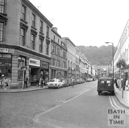 Southgate Street looking south, from the top, 20 July 1971