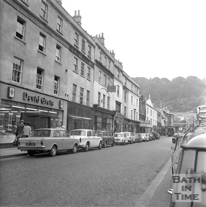 Southgate Street east side, looking south, 20 July 1971