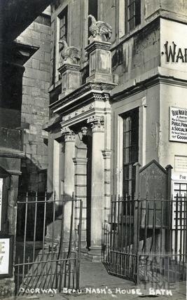 Beau Nash's house, Sawclose c.1920s