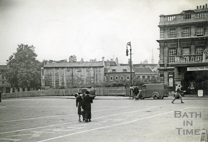 Sawclose and Theatre Royal c.1950s