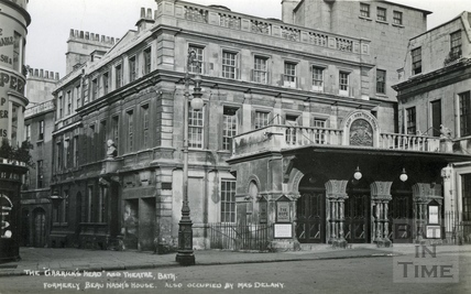 The Garrick's Head and Theatre Royal c.1930
