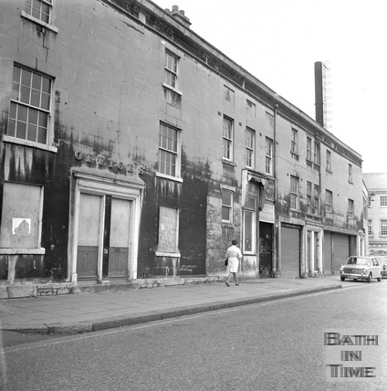The northern end of Newark Street, 20 July 1971