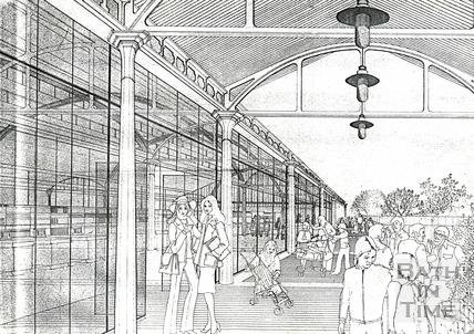 Plans for Green Park Station, 3 October 1977
