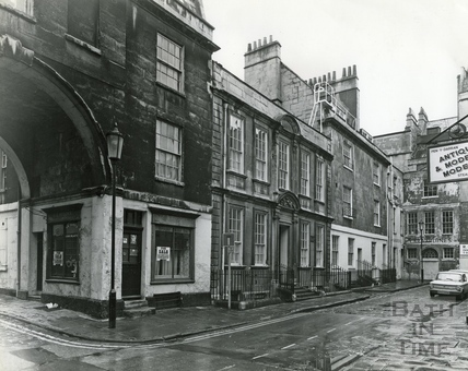 General Wolfe's House, Trim Street 17 Feb 1977