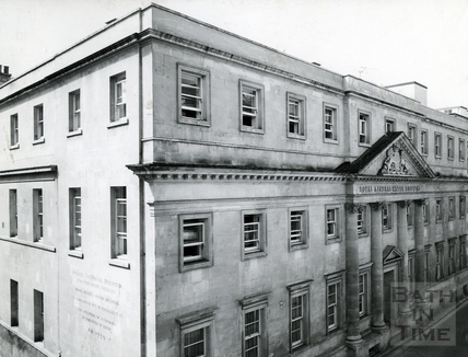 The newly restored Mineral Water Hospital, Upper Borough Walls, 1966