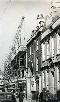The Trim Bridge development, Trim Street, July 1970