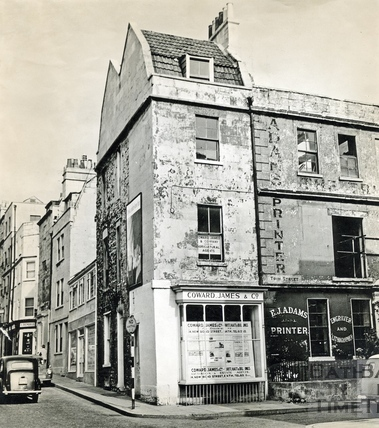 The corner of Barton Street and Trim Street c.1964