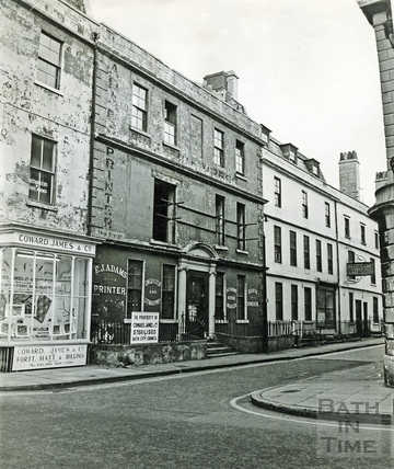 The north side of Trim Street, from Barton Street c.1965