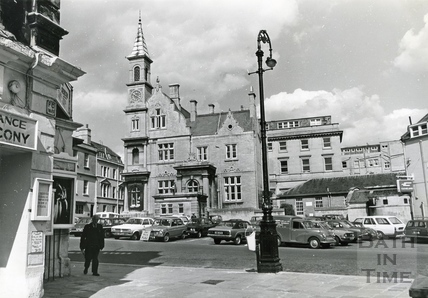 The Bluecoat building, Sawclose, 20 May 1974