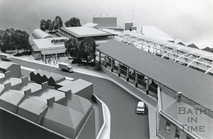 Plans for Green Park Station, 20 March 1978