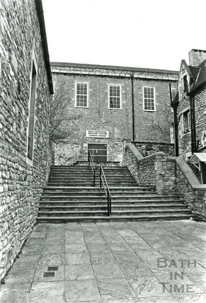 The entrance to the Bath Industrial Heritage Centre 21 April 1987