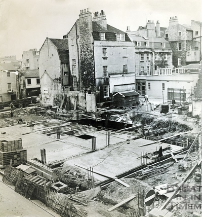 The cleared northern side of Trim Street, 23 March 1970