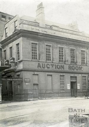 Beau Nash's house, Sawclose c.1880