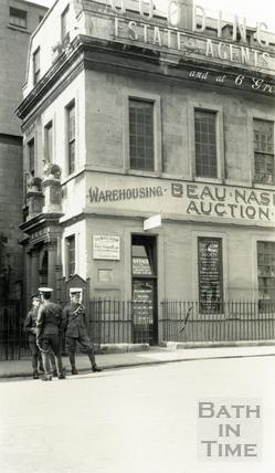 Beau Nash's house, Sawclose 1930