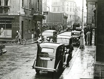 The corner of Trim Street and Upper Borough Walls, c.1930s