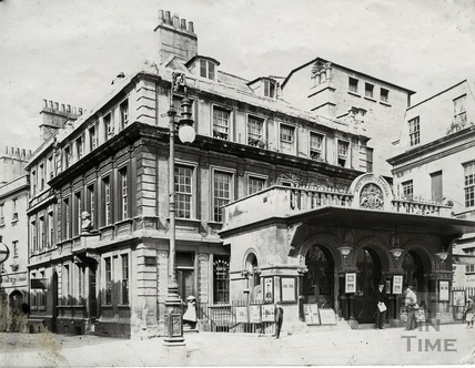 Theatre Royal, Sawclose, Bath c.1903