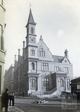 The Bluecoat School, Sawclose c.1900