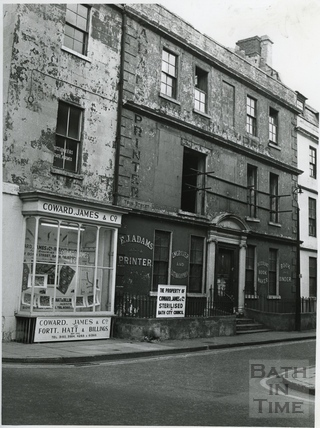 The corner of Barton Street and Trim Street 1967
