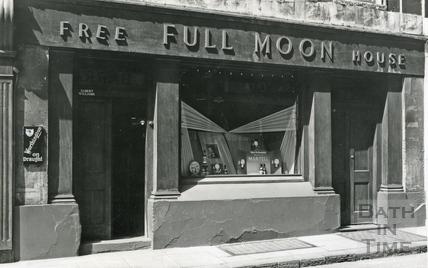 The Full Moon, 13 & 14, Upper Borough Walls, Bath 1960s