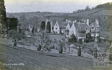 St Catherine's Court and garden, view from the south c.1925