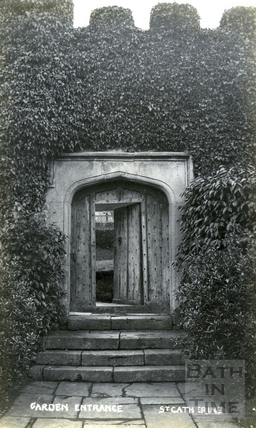St Catherine's Court, garden entrance c.1905
