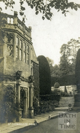 St Catherine's Court, north-west main entrance c.1905