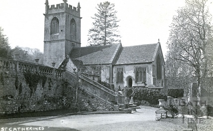 St Catherine's, the church c.1920