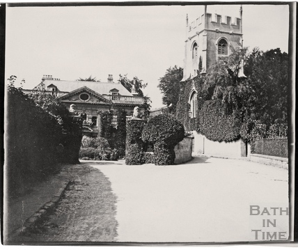 Widcombe Manor and St. Thomas à Becket Church, Bath c.1900