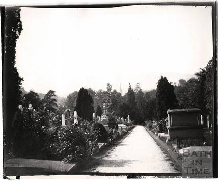 Abbey Church Cemetery, Ralph Allen Drive c.1900