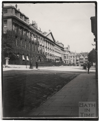 The north side of Queen Square c.1900