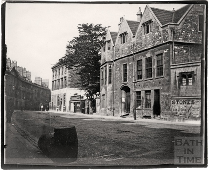 Abbey Church House, Westgate Buildings c.1900