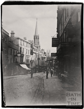 Broad Street looking south c.1900