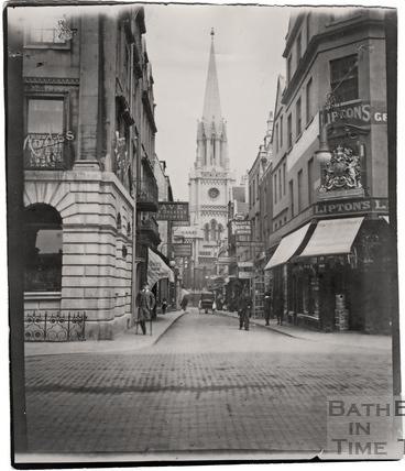 Green Street from Milsom Street c.1900