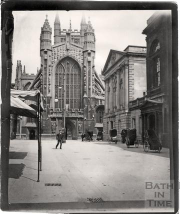 Abbey Church, West front c.1898