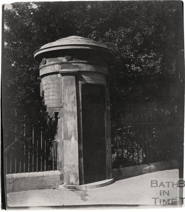 City Watchman's Sentry box, Norfolk Crescent c.1900