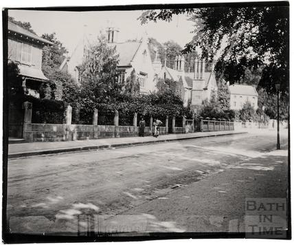 Prior Park Road, c.1900