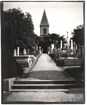Abbey Church Cemetery, Ralph Allen Drive c.1900