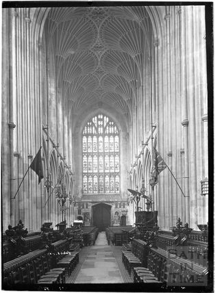 Abbey Interior c.1937