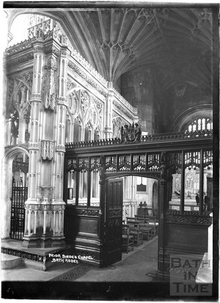 Prior Birde's Chapel, Abbey Interior c.1937