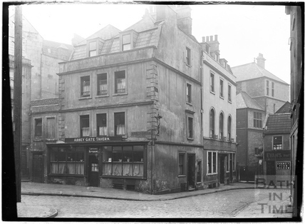 Abbey Gate Tavern, Temperance Restaurant and Evans Fish Saloon Restaurant, Abbey Gate Street