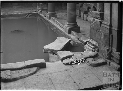 Diving Stone, Roman Baths c.1934