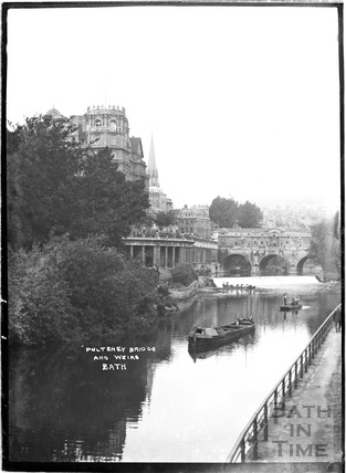 Pulteney Bridge and weir