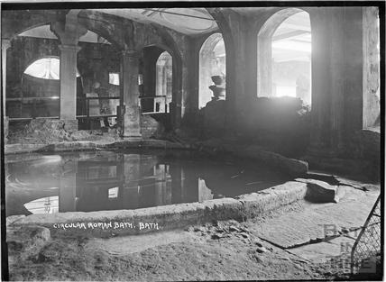 Circular Roman Bath c.1934