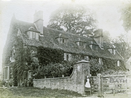 House in Claverton c.1900