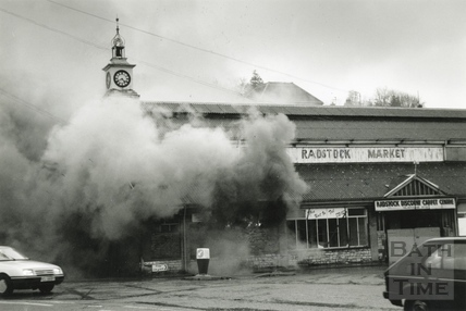 Fire at the Radstock Market Building 20 March 1991