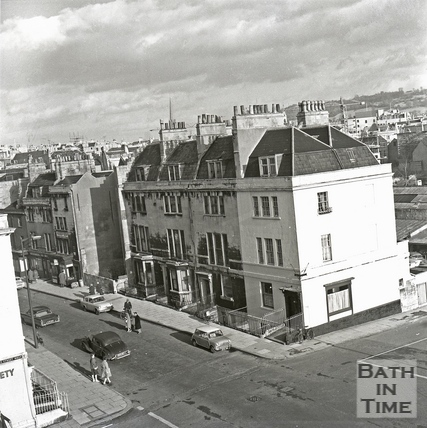 The junction of James Street West and Charles Street c.1960s