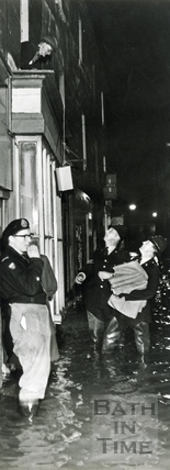 Police relief in Southgate c.1960
